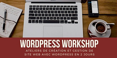 WordPress Workshop - Ateliers de création et gestion de site web avec WordPress tickets