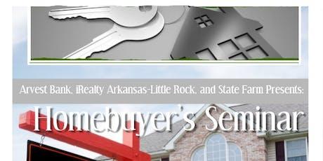 Homebuyer Seminar entradas