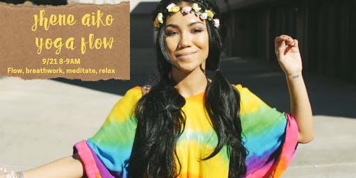 Jhene Aiko Yoga Flow