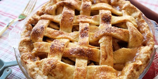 Homemade Apple Pie with Lattice Top and Quiche Lorraine $85