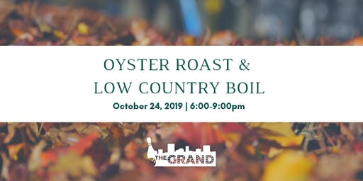 The Grand Oyster Roast with River Rat Brewery
