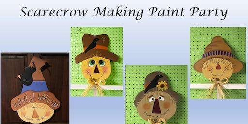 Scarecrow Making Paint PARTY!