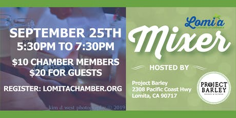 Lomita Chamber Networking Mixer tickets