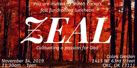 Shiloh Camp's Fall Luncheon tickets