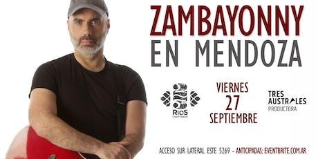 Zambayonny en Mendoza entradas