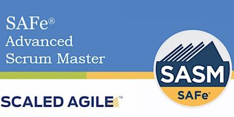 SAFe® 5.0 Advanced Scrum Master with SASM Certification 2 Days Training Denver,CO (Weekend) Online Training tickets