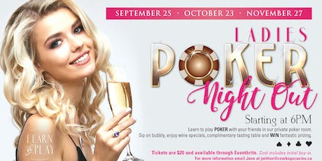 Ladies Poker Night Out tickets