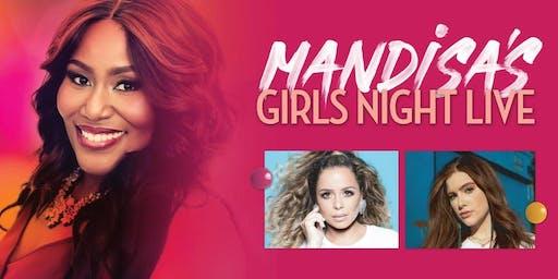 Mandisa - Girl's Night Live Volunteer - El Dorado, AR