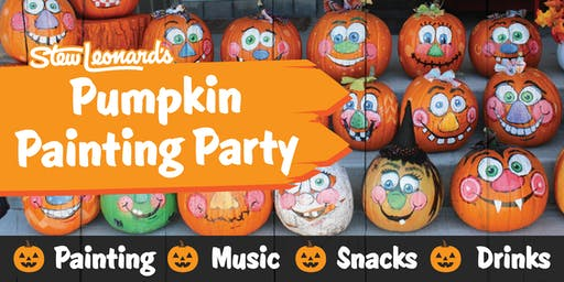 Stew Leonard's East Meadow Pumpkin Painting Party