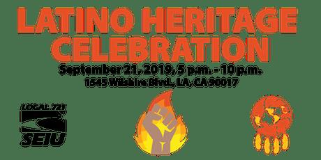 SEIU 721 Latino Heritage  Celebration tickets