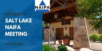 Salt Lake NAIFA October Meeting