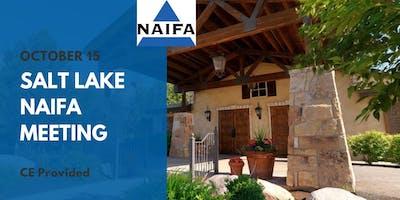 Salt Lake NAIFA October Meeting