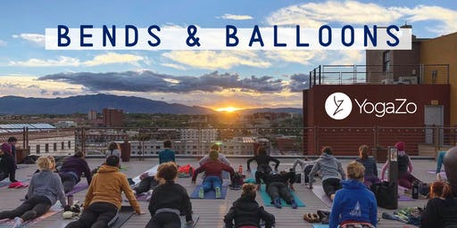 Bends & Balloons on the Rooftop