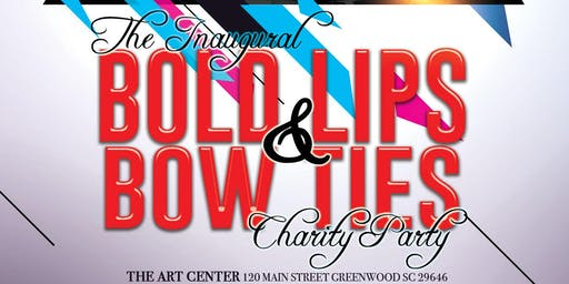 BOLD Lips + Bow Ties  Charity Party
