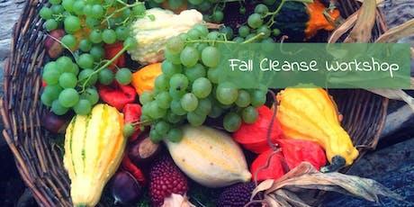 Fall Cleanse, Weight Management & Detox Workshop DSM tickets