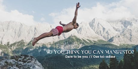 So You Think You Can Manifesto billets