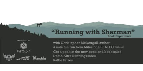 Running With Sherman Book Experience tickets