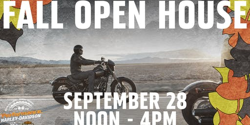 Fall Open House / New Rider Welcome Event