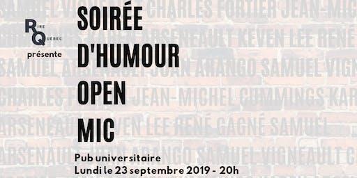 Soirée d'humour - Open Mic