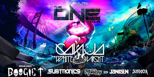 RVLTN Presents: THE ONE TOUR — Ganja White Night, Boogie T, Subtronics + More! (18+)