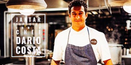 Cópia de Jantar Especial com o Chef Dario Costa ingressos
