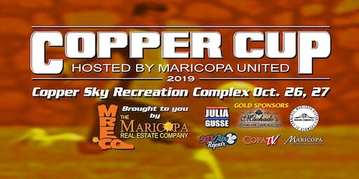 2019 Copper Cup Soccer Tournament/Vendor Registration