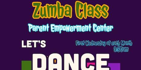 @CSD7bx Zumba Class tickets