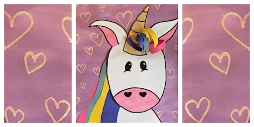 How to Draw & Paint a Unicorn Workshop (5-12 Years)