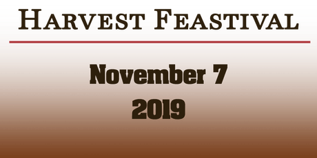 Harvest Feastival 2019 tickets