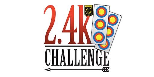 Whitburn Archers 2.4k Challenge - World Record Status WA18 x 4