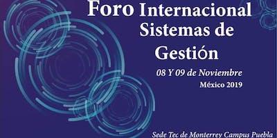 Foro Internacional De Sistemas De Gestión