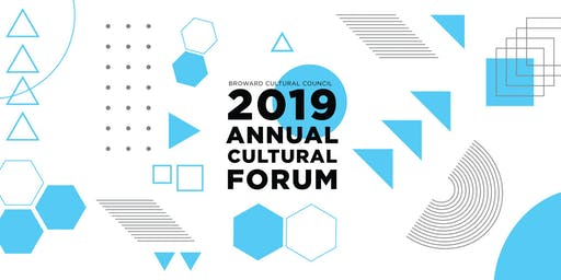 Broward Cultural Council Annual Cultural Forum