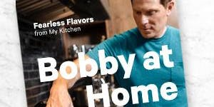 COOKBOOK CLUB - BOBBY AT HOME