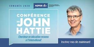 Congrès 2020 l'Association québécoise du personnel de...