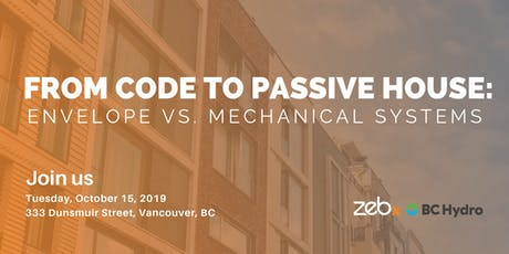 From Code to Passive House - MURB Electrification Case Studies tickets