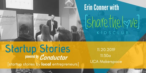Startup Stories: Erin Conner
