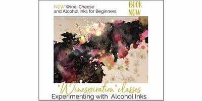 Winespiration - Come and Try Alcohol Inks