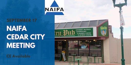 Cedar City NAIFA September Meeting