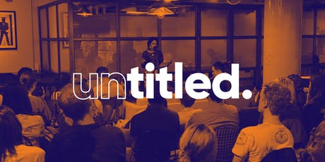 Untitled: A Writer's Salon tickets