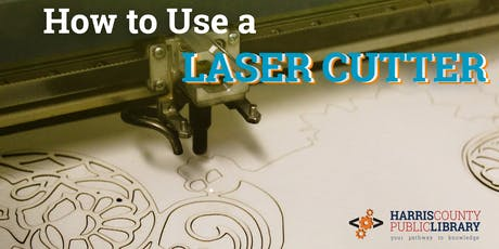 Learn how to use a LASER Cutter- FREE Training Class! tickets