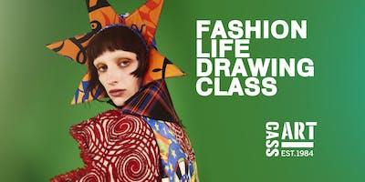 Fashion Life Drawing Class with Francesco Lo Iacono