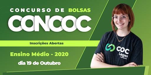 CONCOC Ensino Médio 2020 - (1º, 2º e 3ªº)
