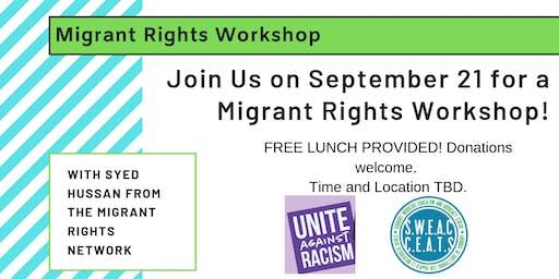 Unite against Racism! Workshop