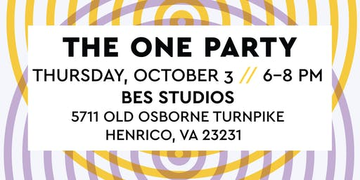 The ONE Party 2019: Hosted by AMA Richmond, PRSA Richmond, SMPS Virginia