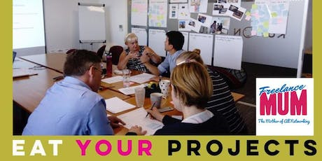 Eat Your Projects: Project Management Workshop & Brunch, with Freelance Mum tickets