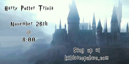 Trivia Night: Harry Potter