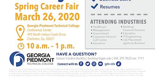 2020 GPTC Spring Career Fair (Vendor Registration)