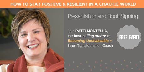 How to Stay Positive and Resilient in a Chaotic World tickets
