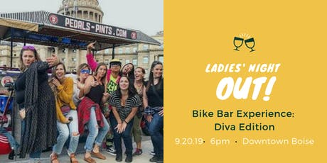 Ladies' Night Out Bike Bar Experience: Diva Edition  tickets