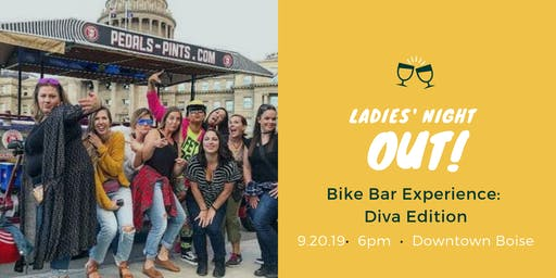 Ladies' Night Out Bike Bar Experience: Diva Edition